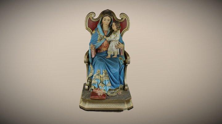 Virgen Riola 3D Model