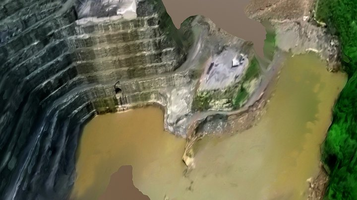 Hidroituango hydroelectric power plant 052318 D 3D Model