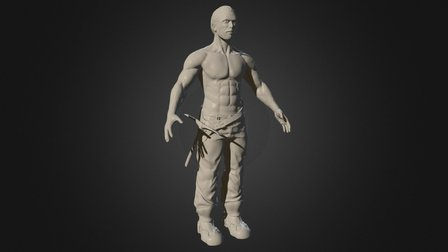 The Miner WIP 3D Model