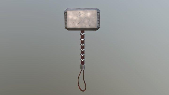 Thors Hammer 3D Model