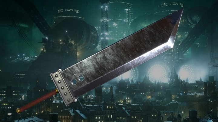 Cloud's Buster Sword - Final Fantasy 7 3D Model