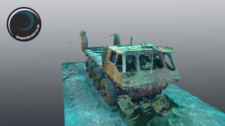 FV622 Alvis Stalwart - Refined and Scaled 3D Model