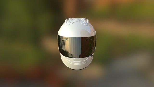 Capacete Teste 3D Model