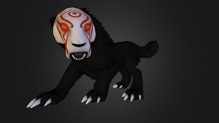 Creatures of Grimm - Razortooth 3D Model