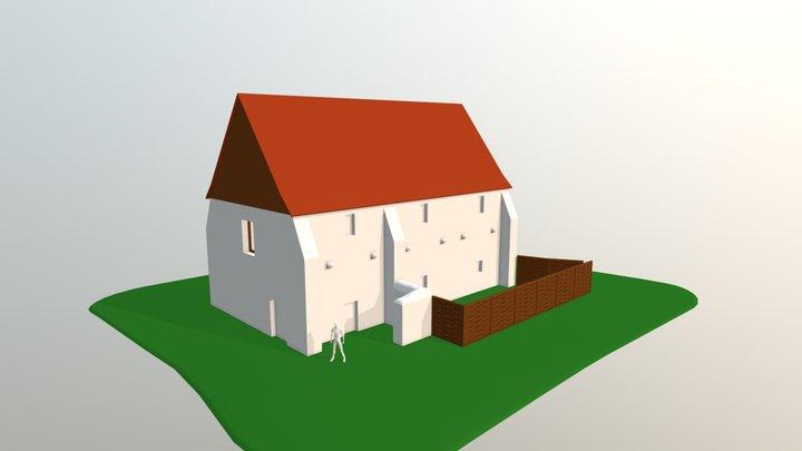 Bergerie de l'Abbaye de L'Epau 3D Model
