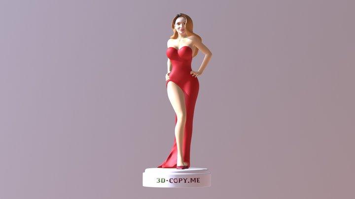 400 Women 3D Model