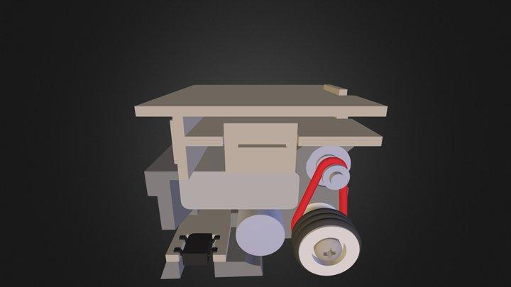 nano Robot 3D Model