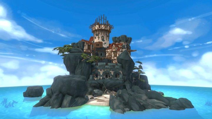 "Sea Keep ""Lonely Watcher"" 3D Model"