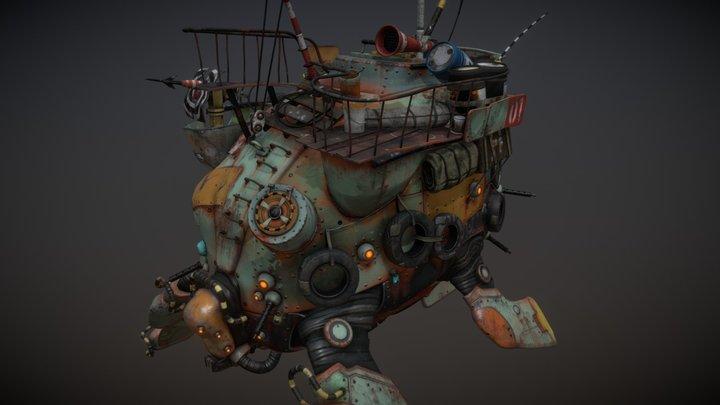 The Archelon 3D Model