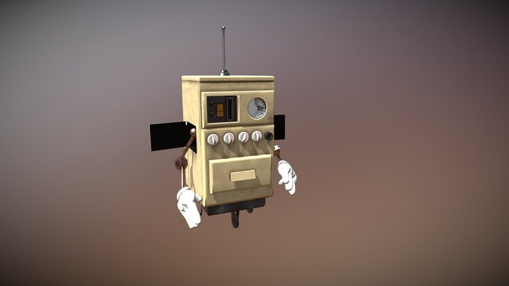 W&G - A Grand Day Out - Cooker 3D Model