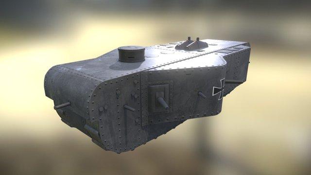 K-Wagen, German Super-Heavy Tank 3D Model