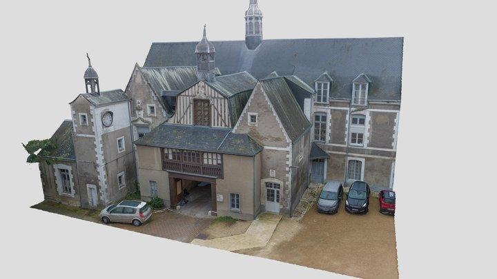 Lanternons Hôpital de Vendôme 3D Model