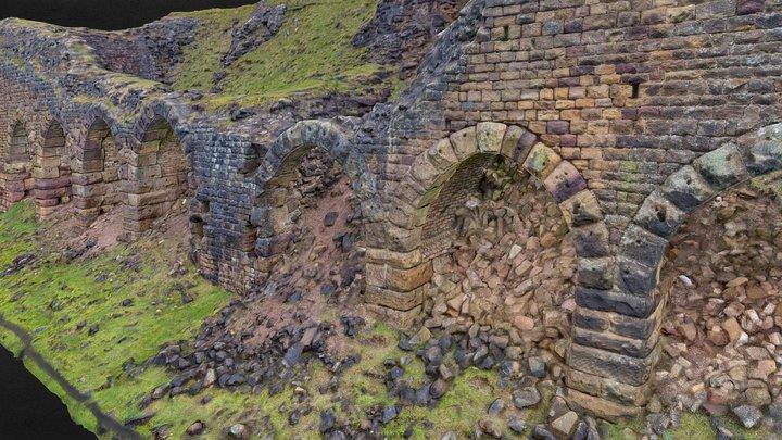 Rosedale Stone Kilns 3D Model
