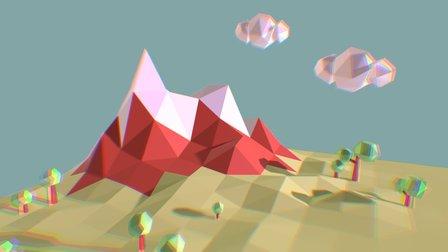 mountains 3D Model