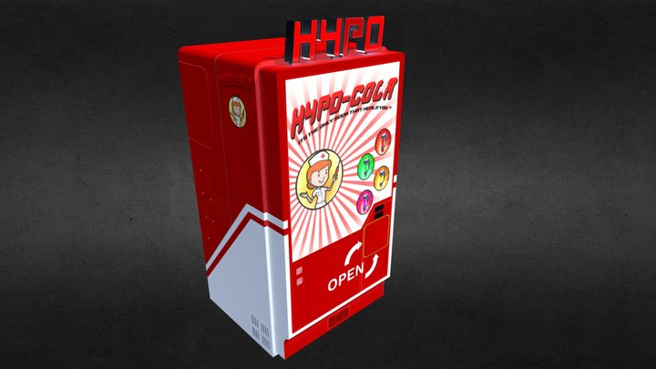 HYPO Cola Machine - NEW 3D Model