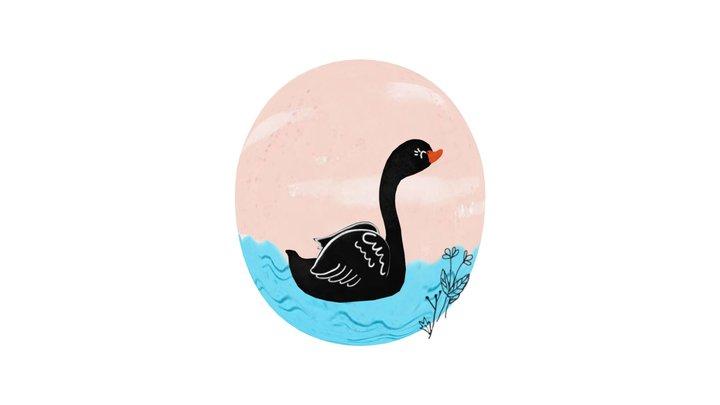 Black Swan 3D Model