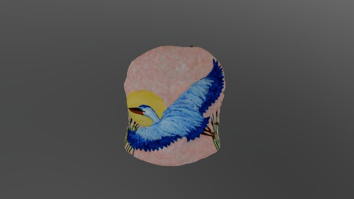 Blue Heron 3D Model