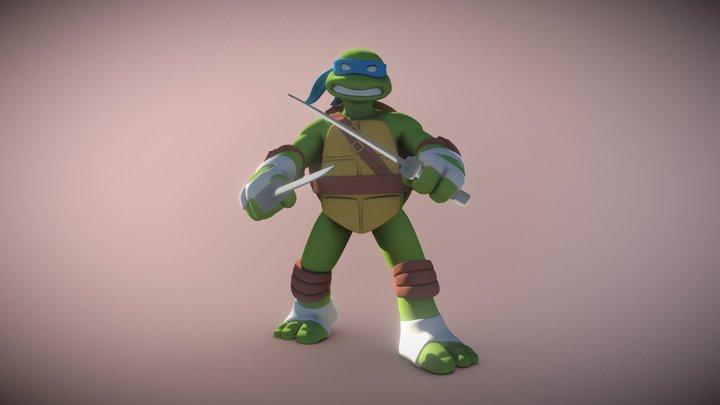 Ninja Turtle Donatello Toy 3D Model