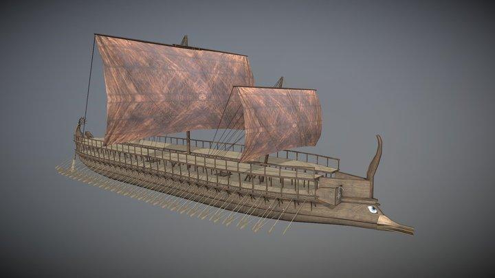 Trireme 3D Model
