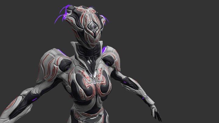 Mirage Tennogen Skin 3D Model