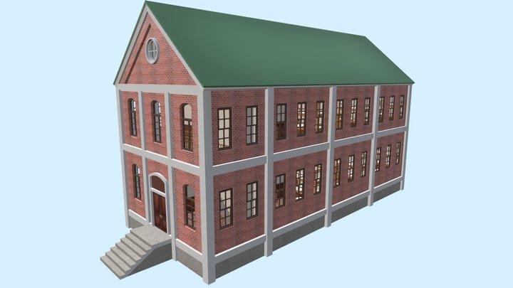 Barracks of KanColle 3D Model