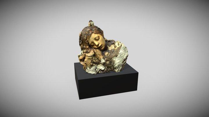 Le Sommeil, Rodin. Coll. du Musée Rodin, Paris. 3D Model