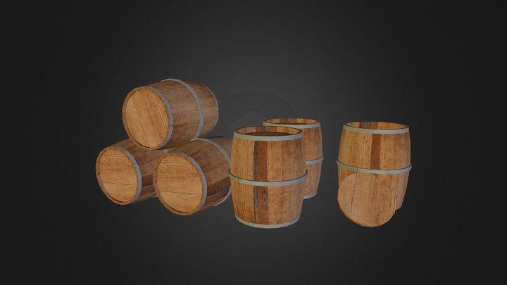barrels_group 3D Model