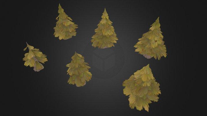 Pines 3D Model