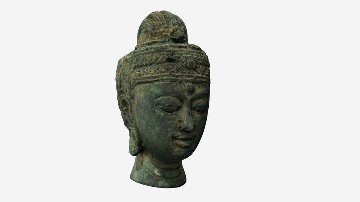 Antique Egypt Head 3D Model