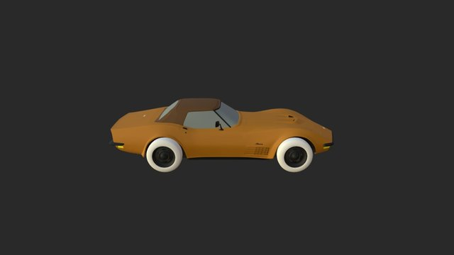 Car Unmod 3D Model