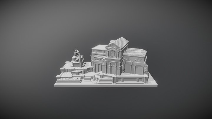 Domus Maximus - Foundations of Rome 3D Model