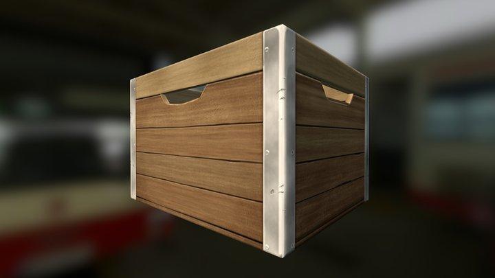 Crate A 3D Model
