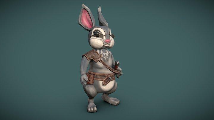 Rabbit Traveler 3D Model