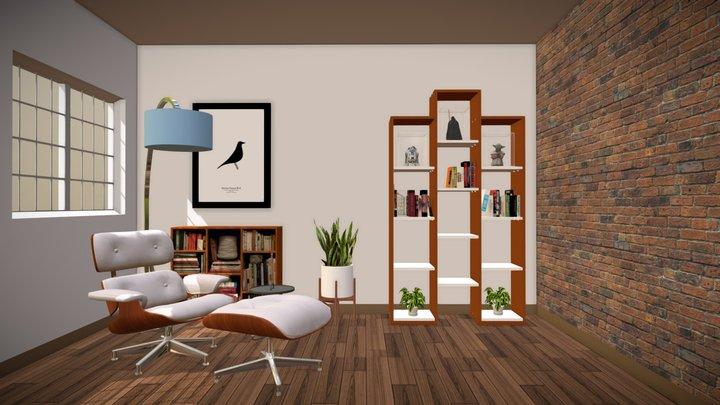 Reading corner 3D Model