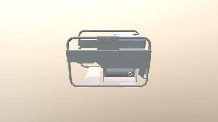 WIP Power Generator 3D Model