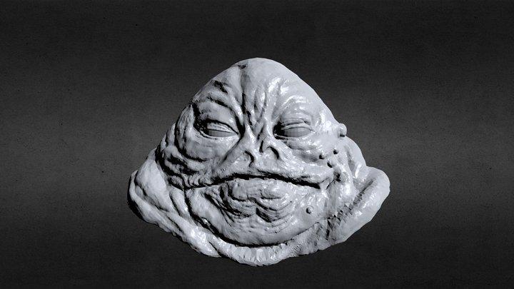 Jabba sketch 3D Model