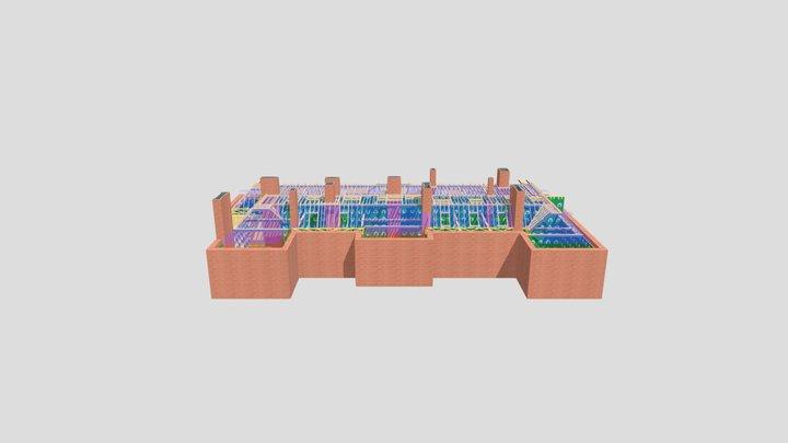 P12978 - Berkeley Mansion House 3D 3D Model