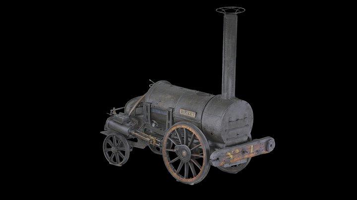 Stephenson's Rocket 3D Model