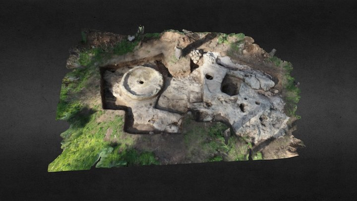 Harod quarry excavation 1 - Shalev Y. 3D Model