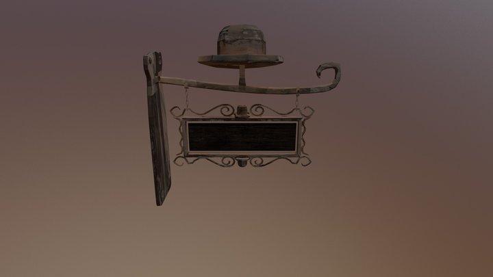 Signpost 3D Model