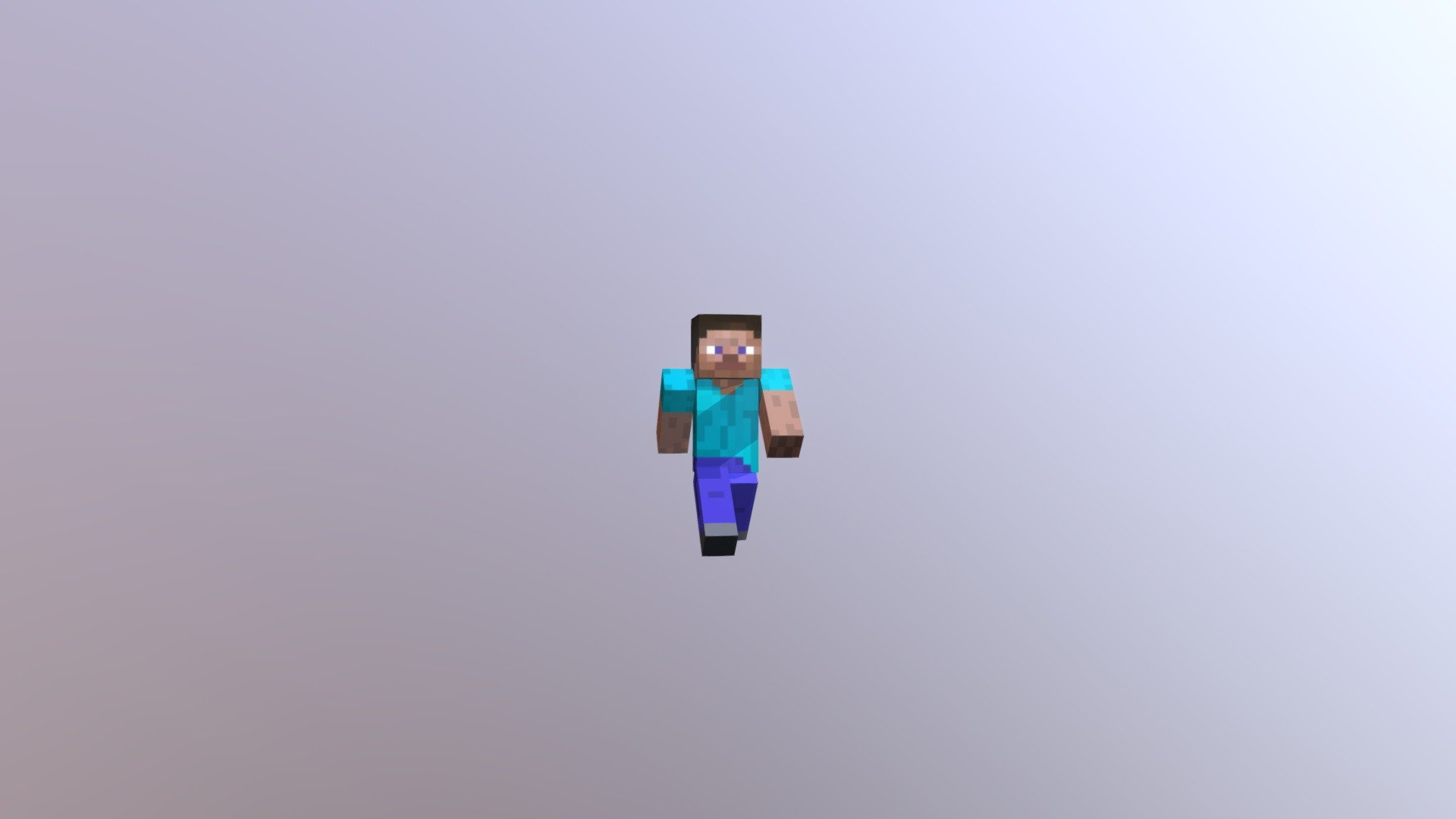 Minecraft- The Perfect Steve- HighPoly - Download Free 8D model by