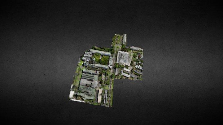 Cité scolaire du Butor, île de La Réunion 3D Model