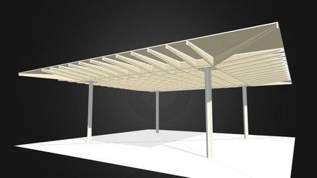 TOG-PL-Charpente Pavillons 3D Model