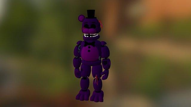 Fnaf-2-shadow Freddy 3D Model
