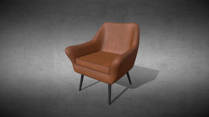 Game ready Sofa assets Low-poly 3D model 3D Model