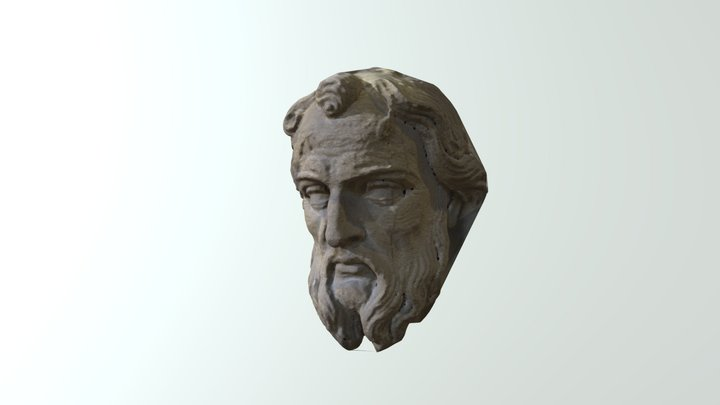 Privett Church Face2 3D Model