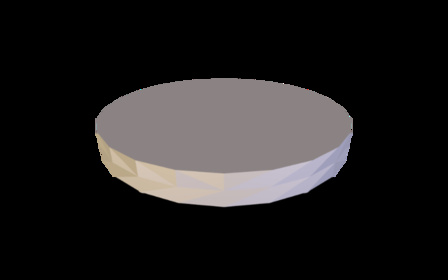 The Puck: Clear Hair from your Drain! 3D Model