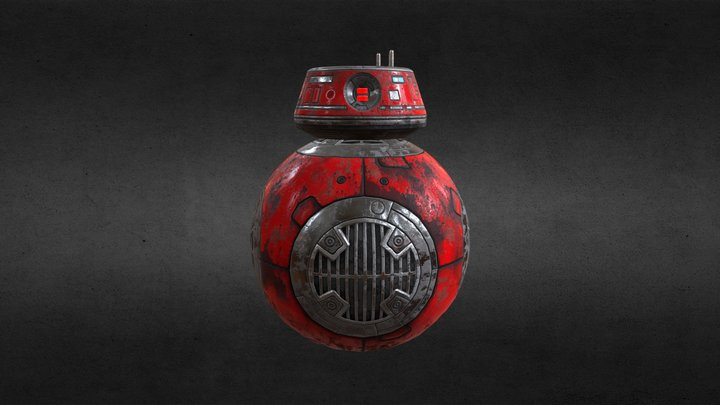 Droid - The Last Jedi 3D Model