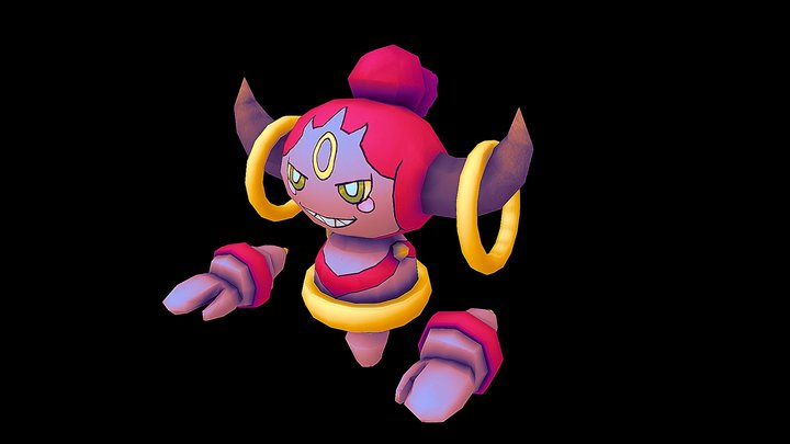 Hoopa from Pokemon 3D Model