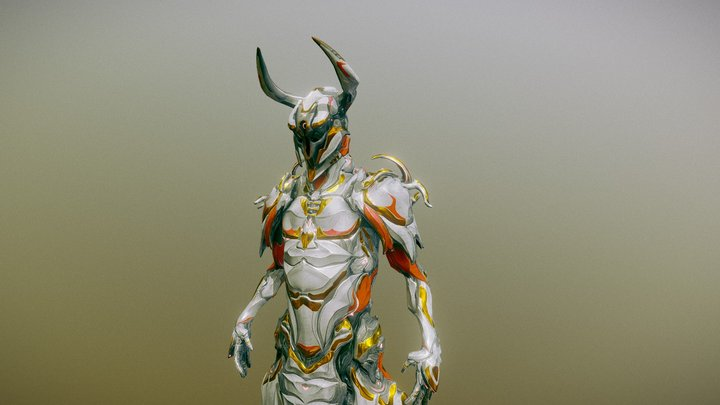 Oberon specture armor set 3D Model